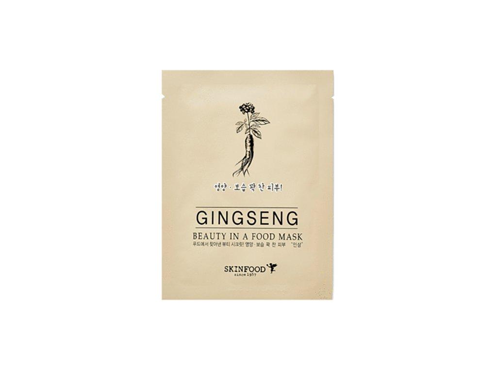 SKINFOOD Ginseng Sheet Mask