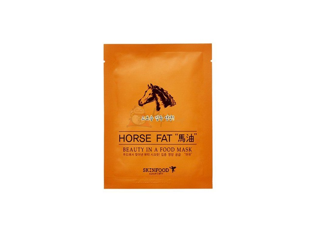 SKINFOOD Horse Fat Sheet Mask 30g KOR