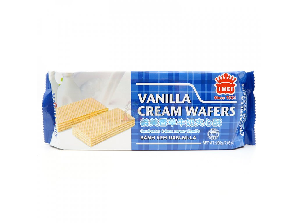 Krémová vafle s náplní vanilka - PEPIS.SHOP