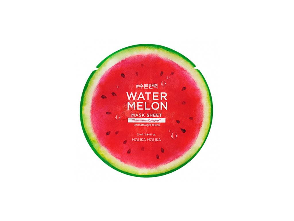 HOLIKA HOLIKA Watermelon Sheet Mask 25g KOR
