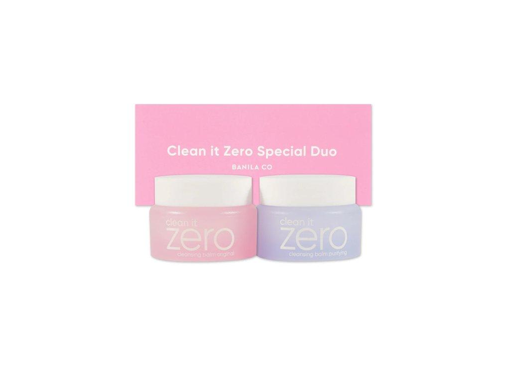 BANILA CO Clean It Zero Duo Trial Kit Balení (2x30g) KOR (1)