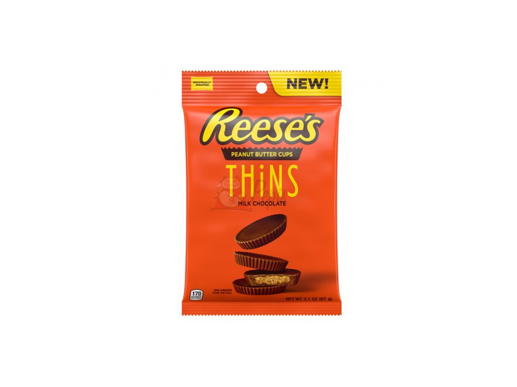 Reese's Peanut Butter Cups Thins 87g USA