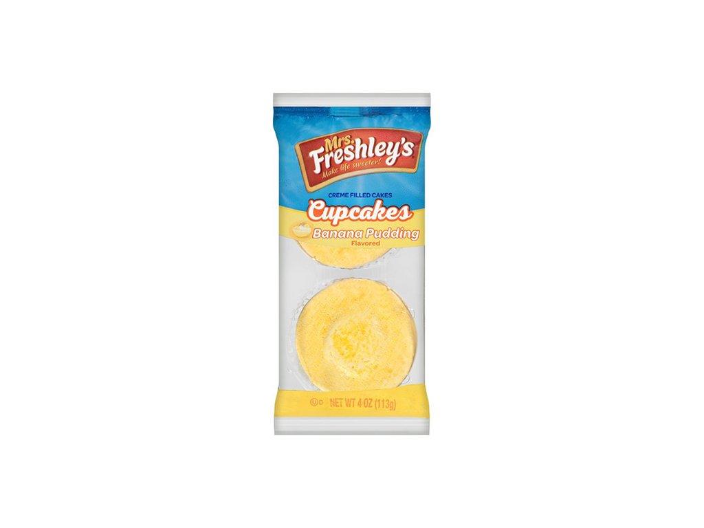 Mrs.Freshley's Cupcakes Banana Pudding Flavored 1ks 113g USA