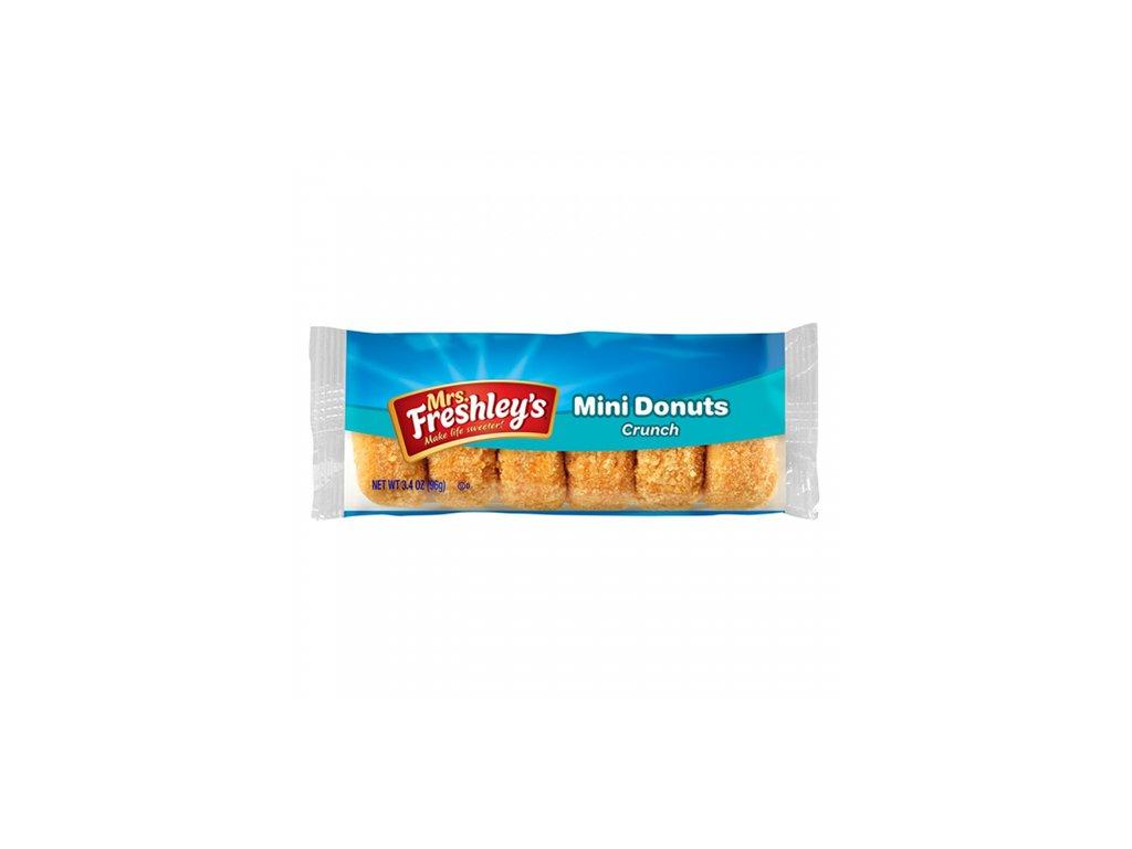 Mrs.Freshley's Mini Donnuts Crunch 1ks 85g USA
