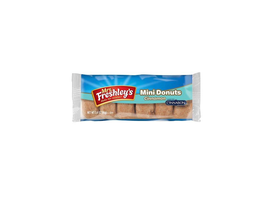 Mrs.Freshley's Mini Donnuts Cinnamon 1ks 85g USA
