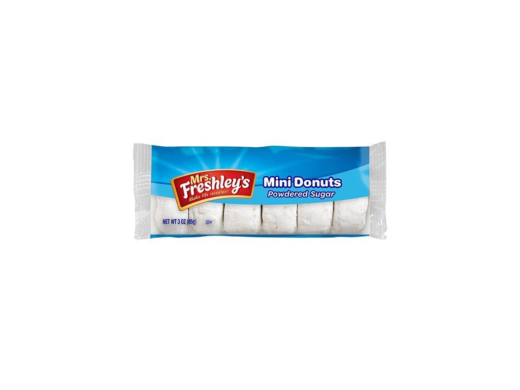 Mrs.Freshley's Mini Donnuts Powdered Sugar 1ks 85g USA