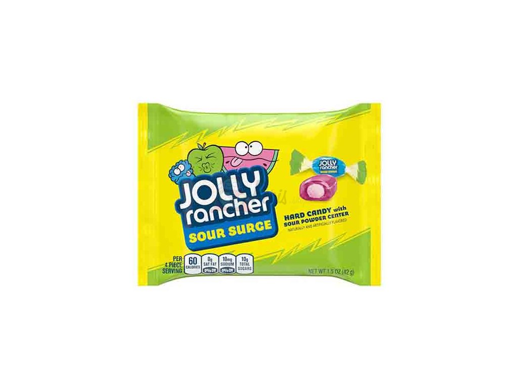11438 jolly rancher sour surge hard candy 42g usa