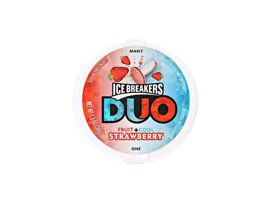 Ice Breakers Duo Mints Strawberry 36g USA