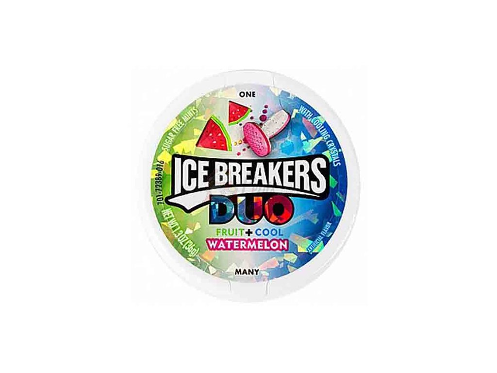Ice Breakers Duo Mints Watermelon 36g USA