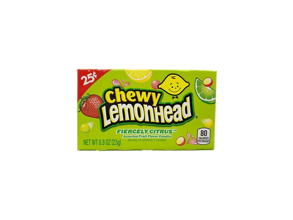 Chewy Lemonhead Fiercely Citrus 23g USA