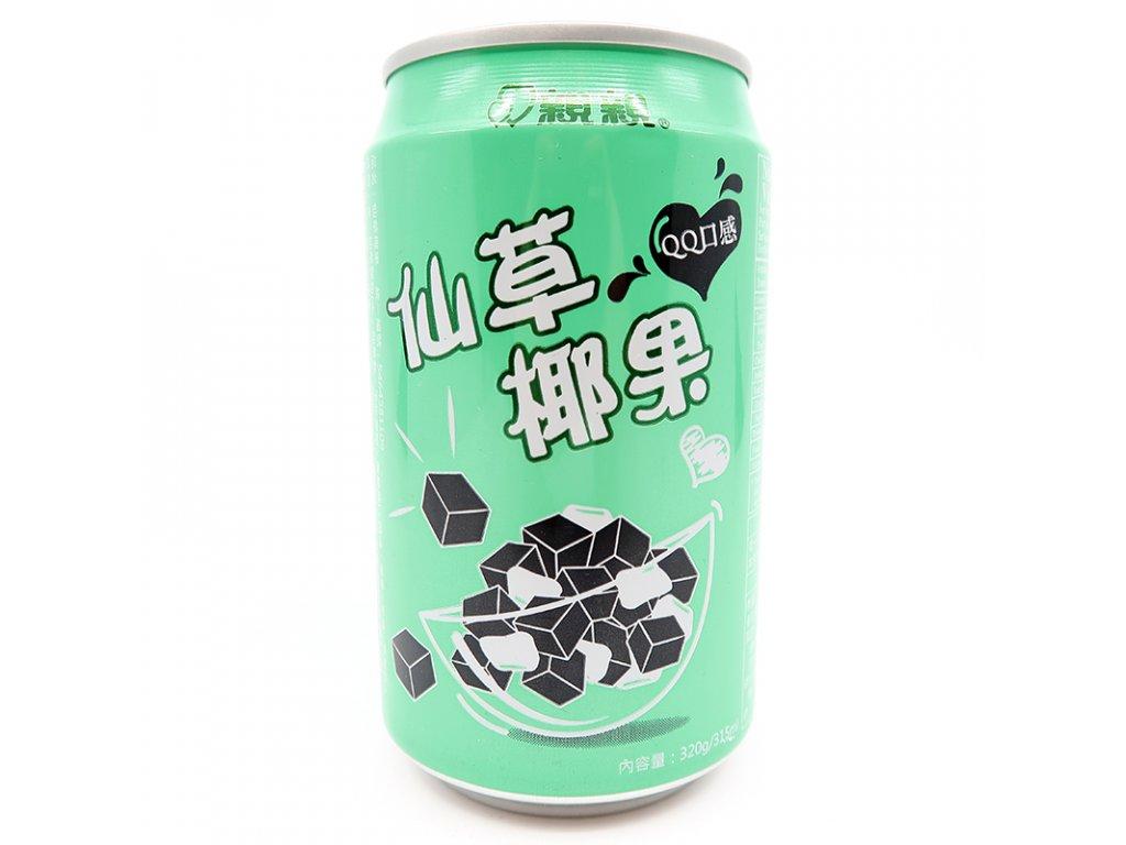 Žele nápoj s kokosovým krémem, 320ml - PEPIS.SHOP