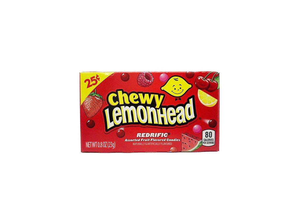 Chewy Lemonhead Redrific 23g USA