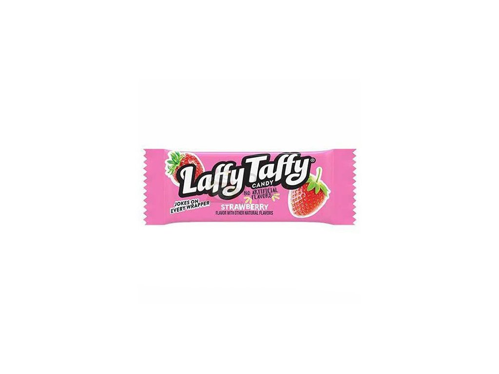 Laffy Taffy Strawberry Žvýkací Bonbon 1ks 10g USA