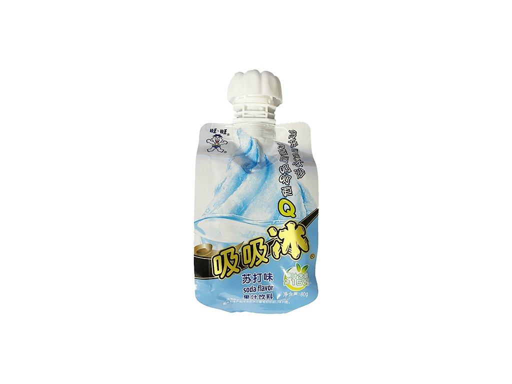 Want Want Ice Bar Soda Flavor Instantní Zmrzlina 80g CHN