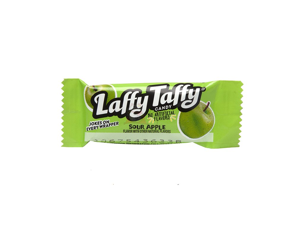 Laffy Taffy Apple Žvýkací Bonbon 1ks 10g USA