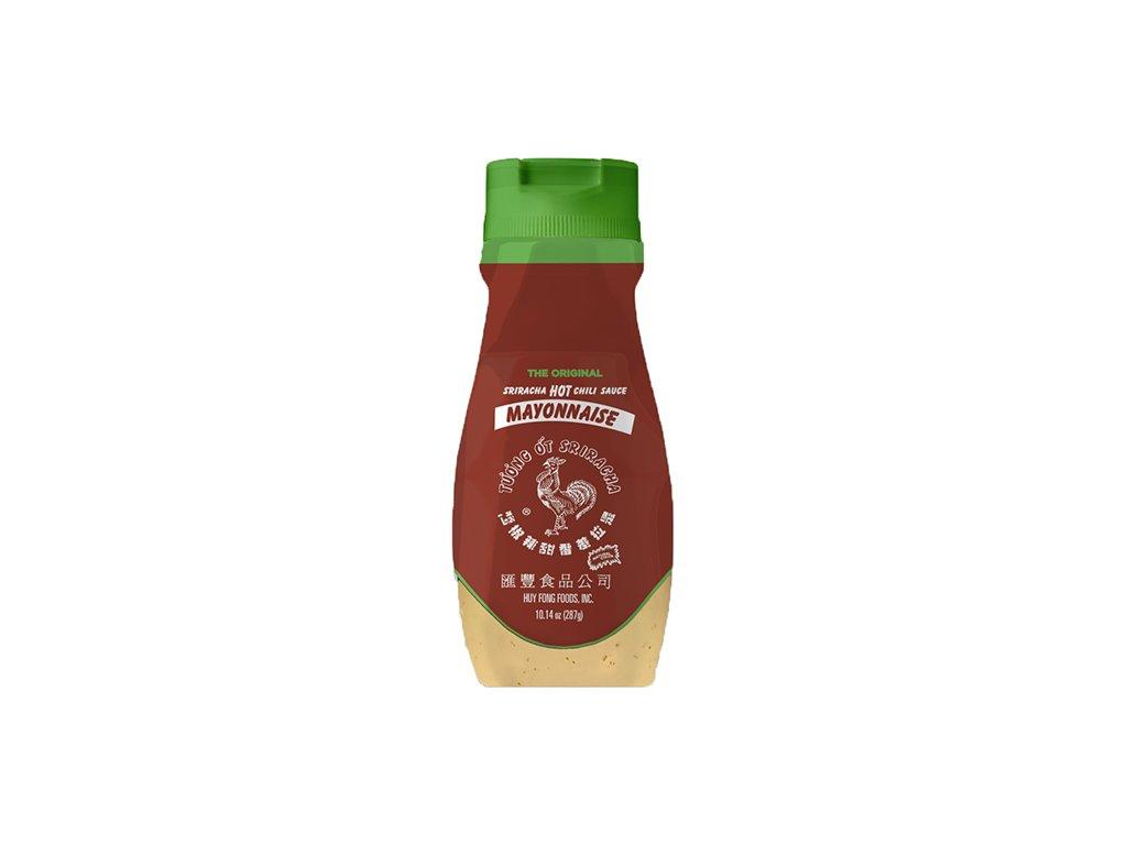 sriracha bottle packaging mockup