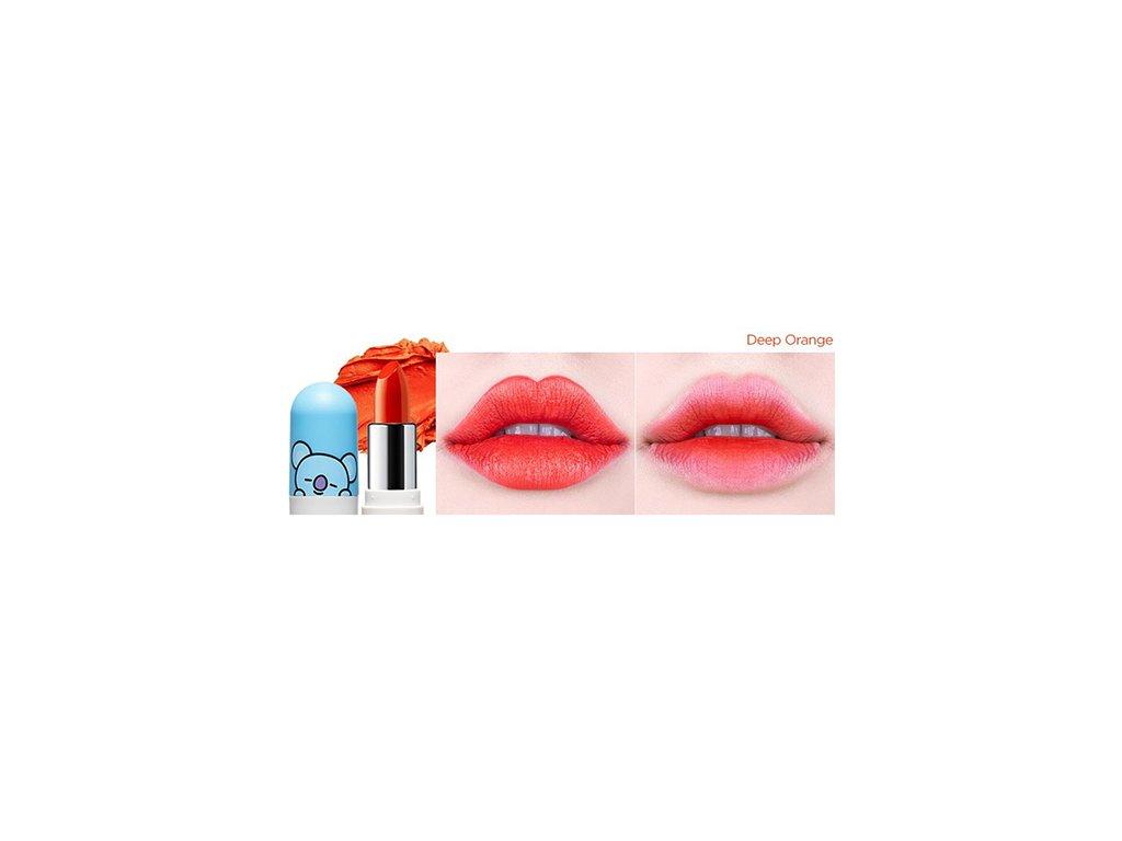 BT21 Lippie Stick #05 Deep Orange 20g KOR
