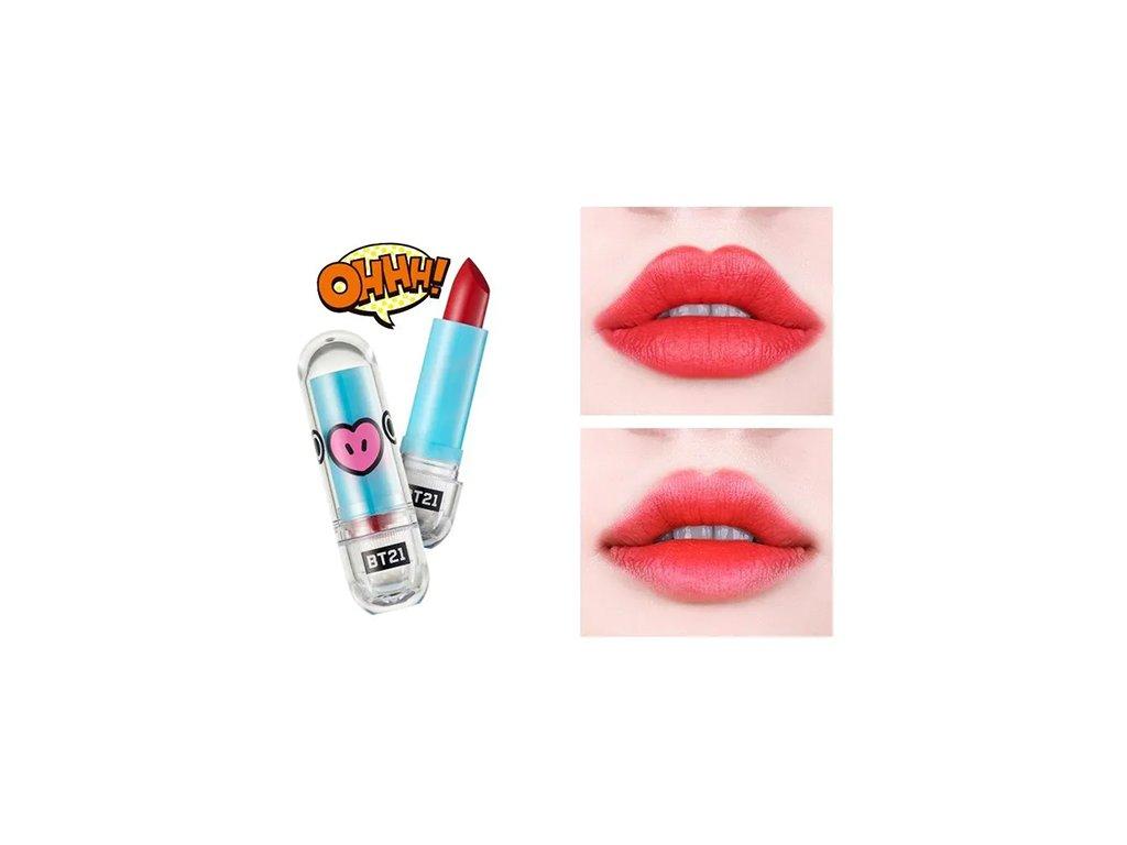 BT21 Lippy Stick Special #08 Brit Red 28g KOR