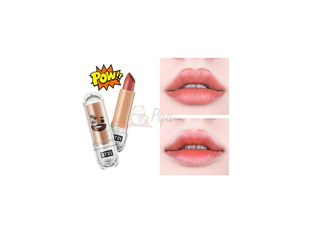 BT21 Lippy Stick Special #07 Mystic Brown 28g KOR