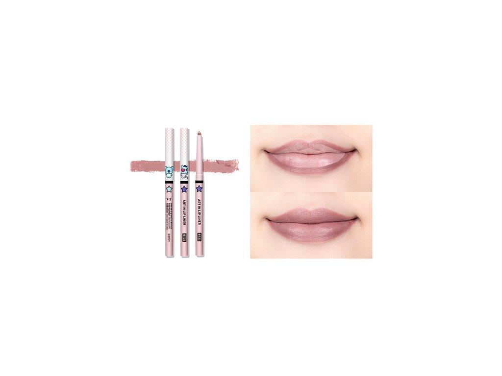 BT21 Art In Lip Liner #01 Beige Rose 13g KOR