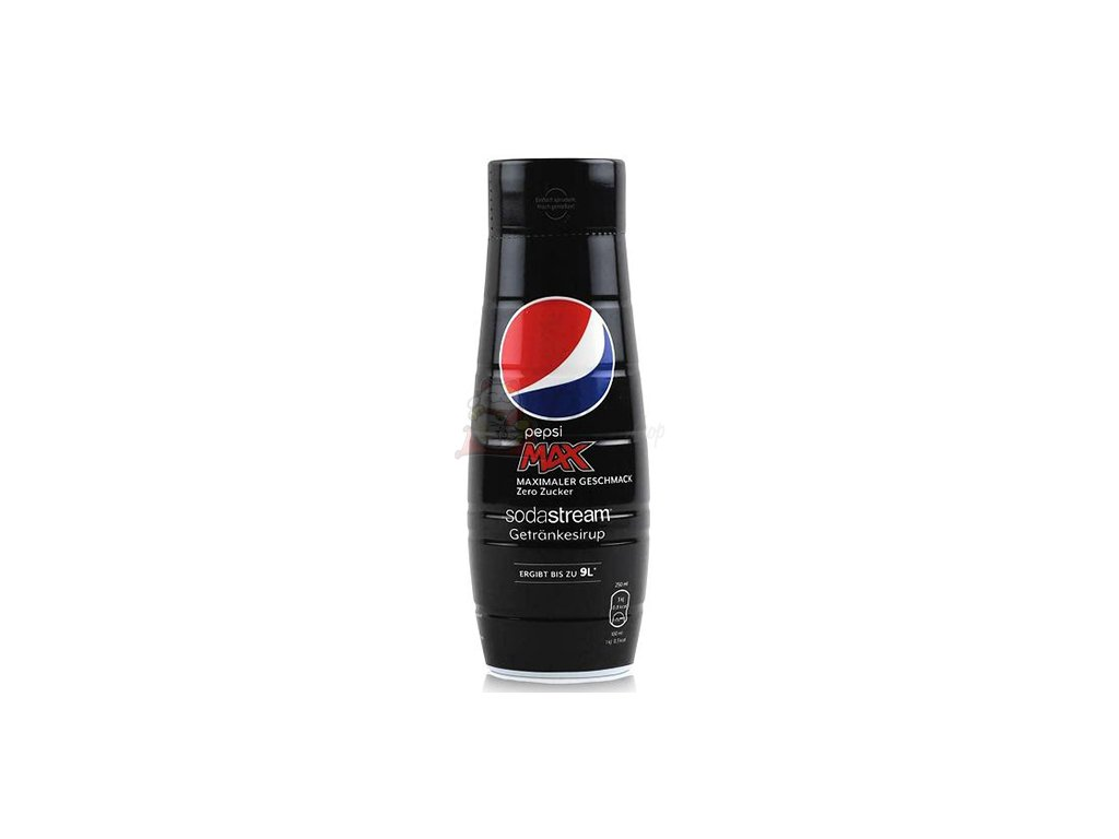Sodastream Pepsi Max Zero Sirup Na Výrobu Nápoje 440ml UK