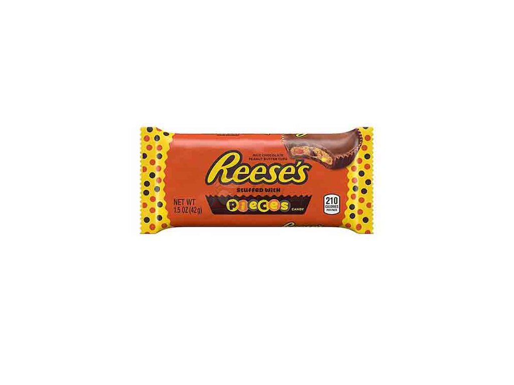 Reese's Stuffed With Pieces 2 Peanut Butter Cups 42g USA