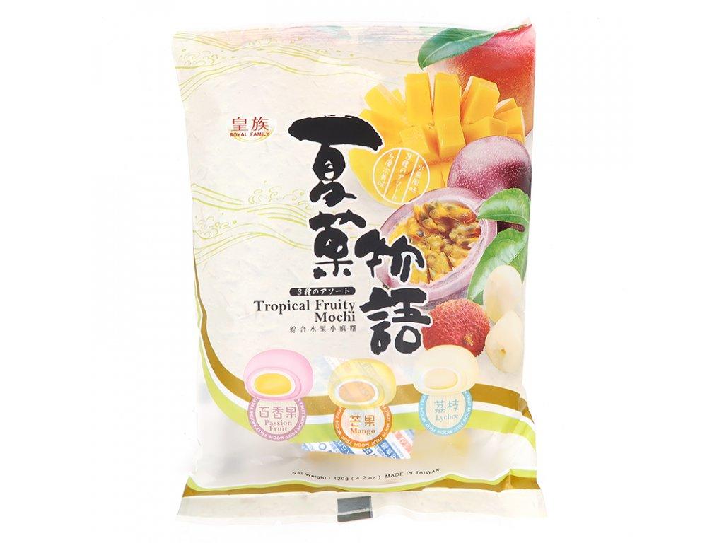 Mochi koláčky mix tropické ovoce - PEPIS.SHOP