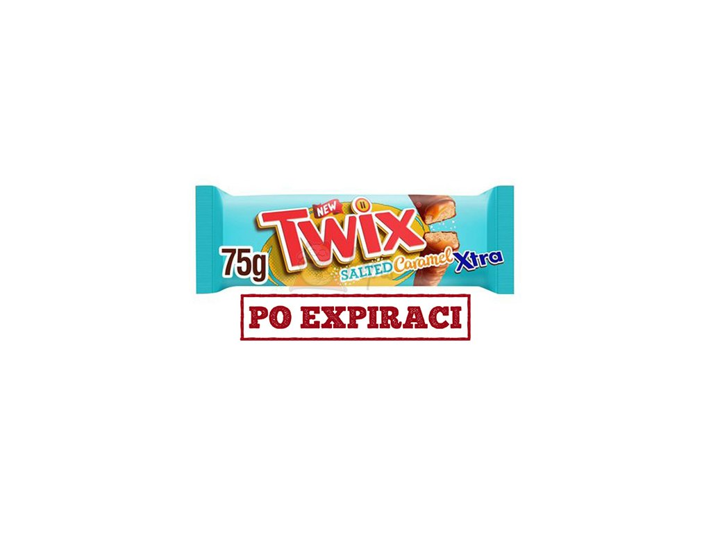 Twix Salted Caramel Xtra 75g CZE