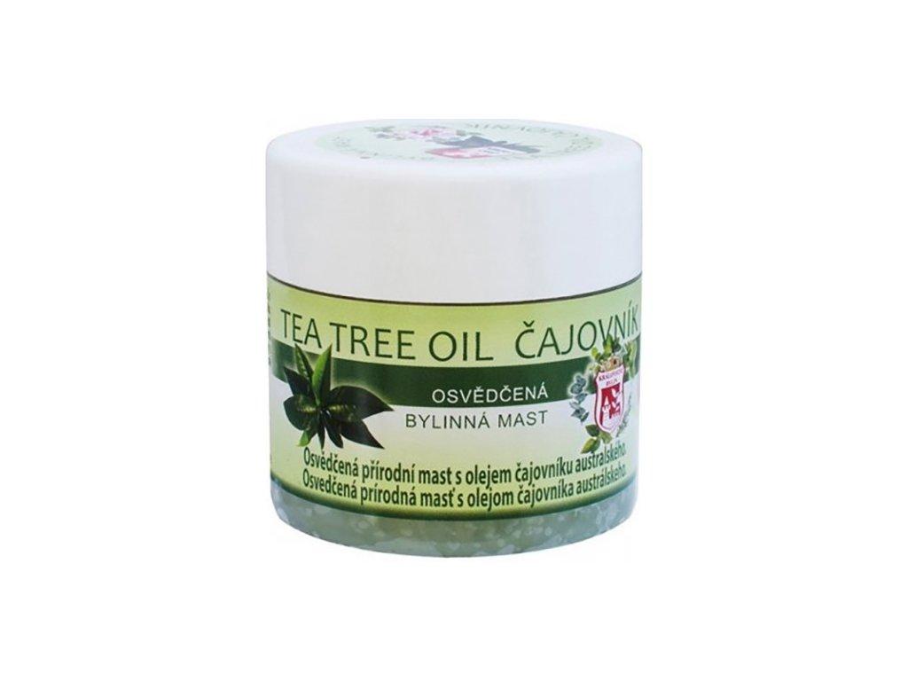 Bylinná Mast Tea Tree Oil Čajovník 150ml CZE