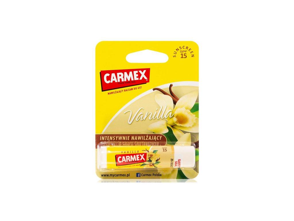 CARMEX Balzám Na Rty Vanilka s SPF 15 4.25g USA