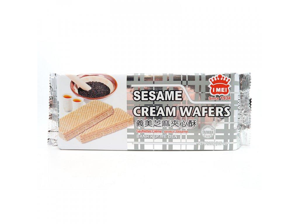 Krémová vafle s náplní sezam - PEPIS.SHOP