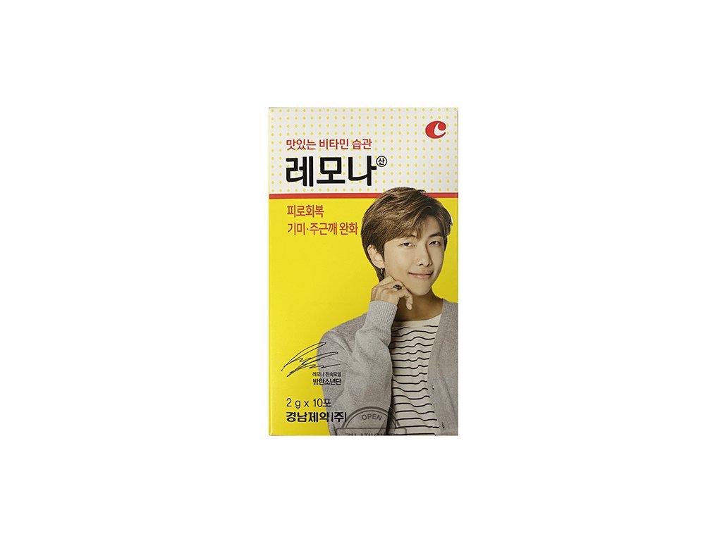 LEMONA Vitamin Powder BTS Member #2 RM (10x2g) KOR
