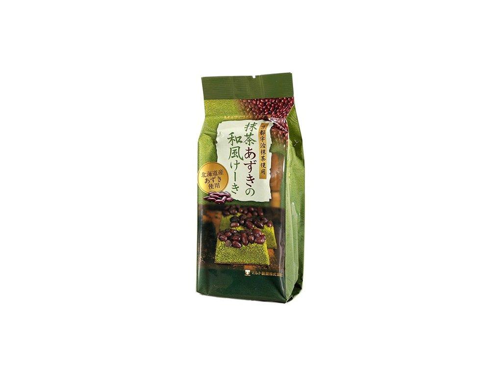 Maruto Matcha Red Bean Cake 120g JAP