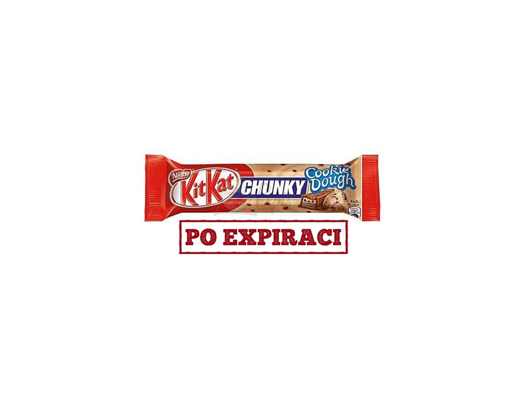 KitKat Chunky Cookie Dough 42g DEU