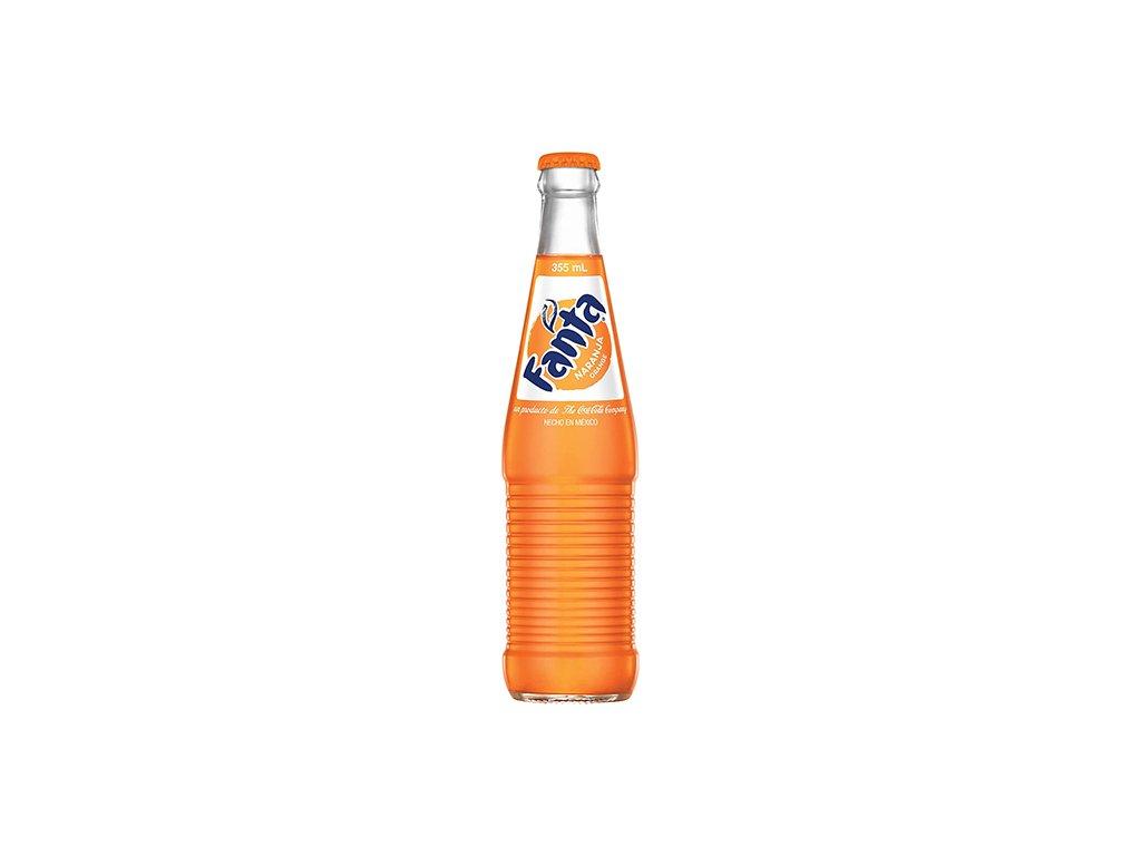 Fanta Pomeranč Skleněná Láhev 355ml MEX