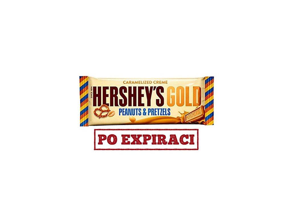 Hershey's Gold Peanut and Pretzels 39g USA