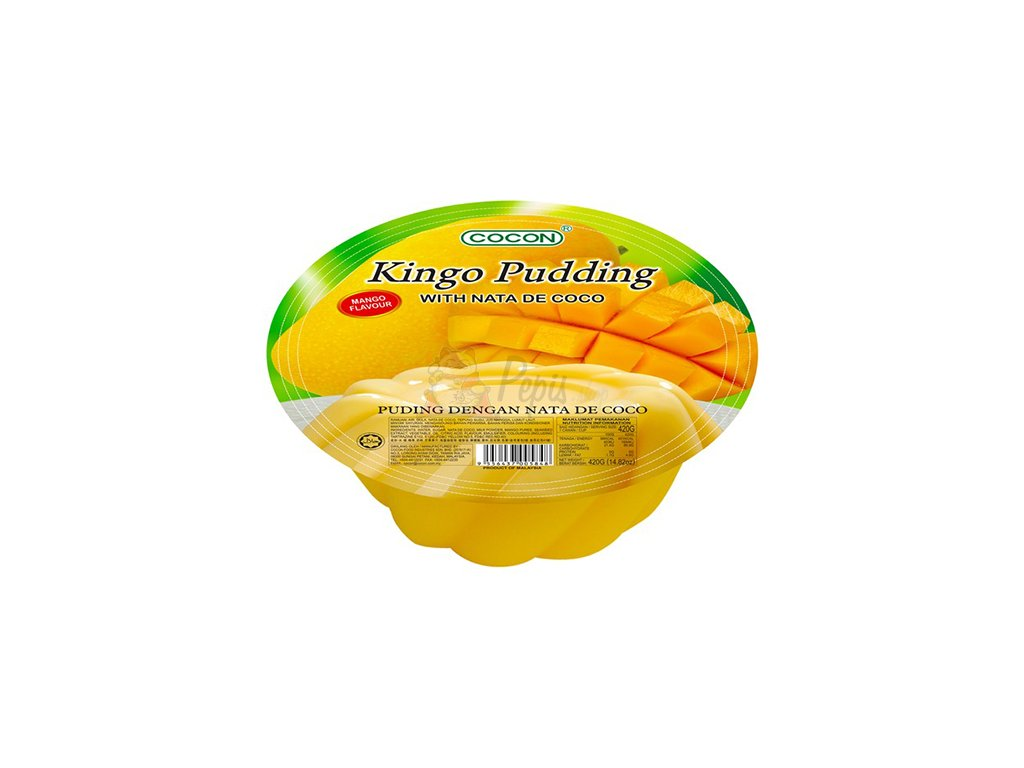 Kingo Pudding Mangový Želé Pudding 420g VNM