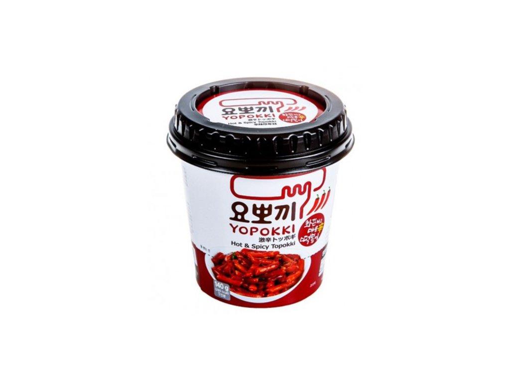 Yopokki Hot Spicy Topokki v Misce 120g KOR