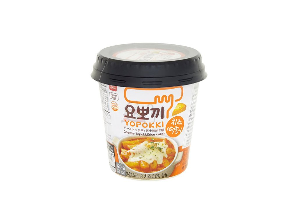 Yopokki Cheese Topokki v Misce 120g KOR