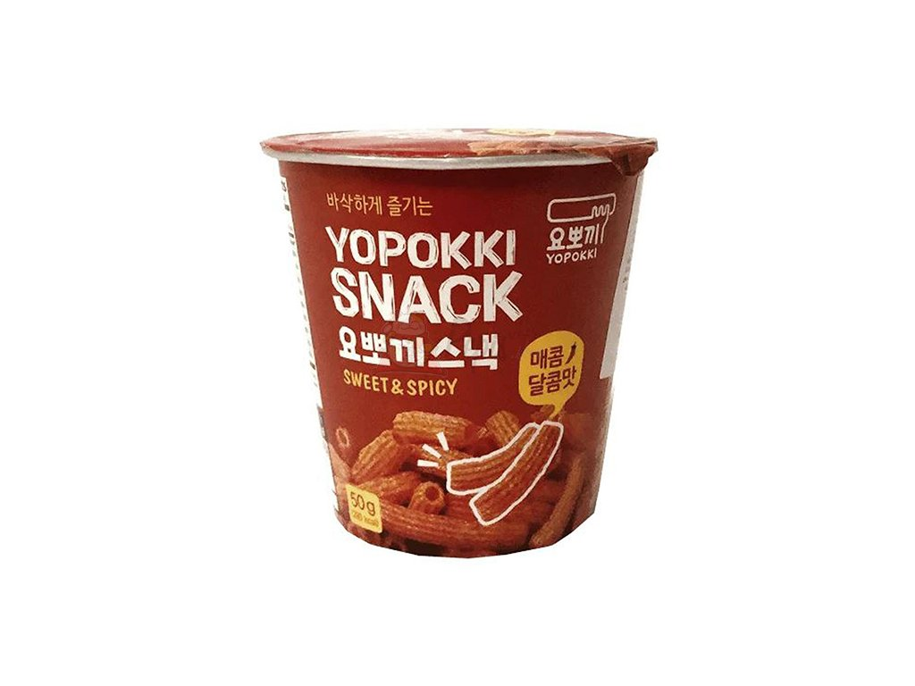 Yopokki Snack Sweet Spicy 50g KOR