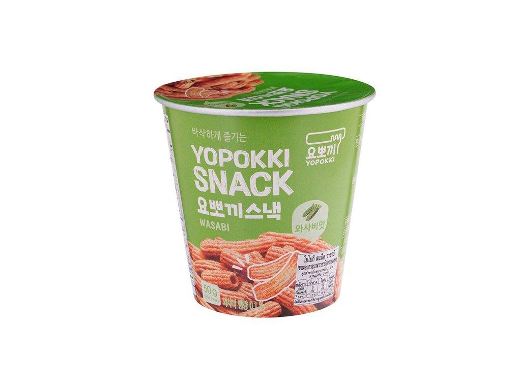 Yopokki Snack Wasabi 50g KOR