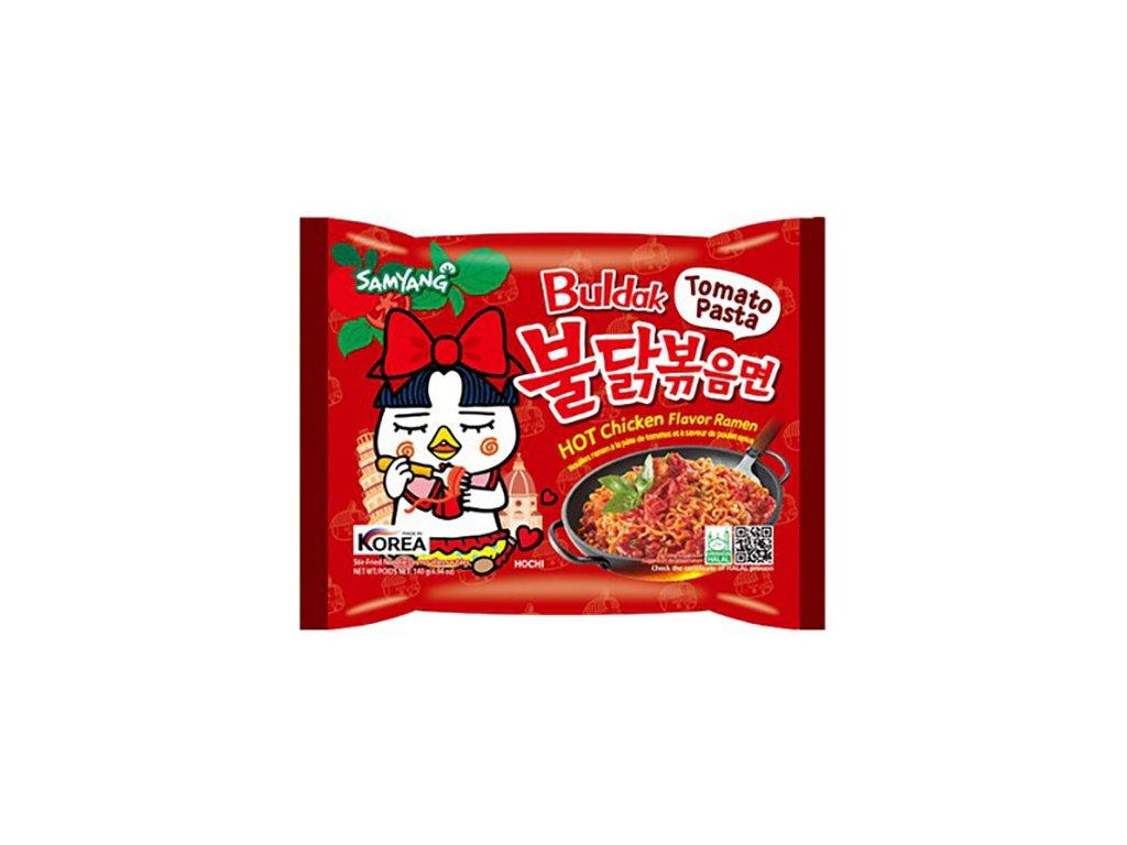 Samyang Pálivý Kuřecí Ramen Tomato Pasta 140g KOR