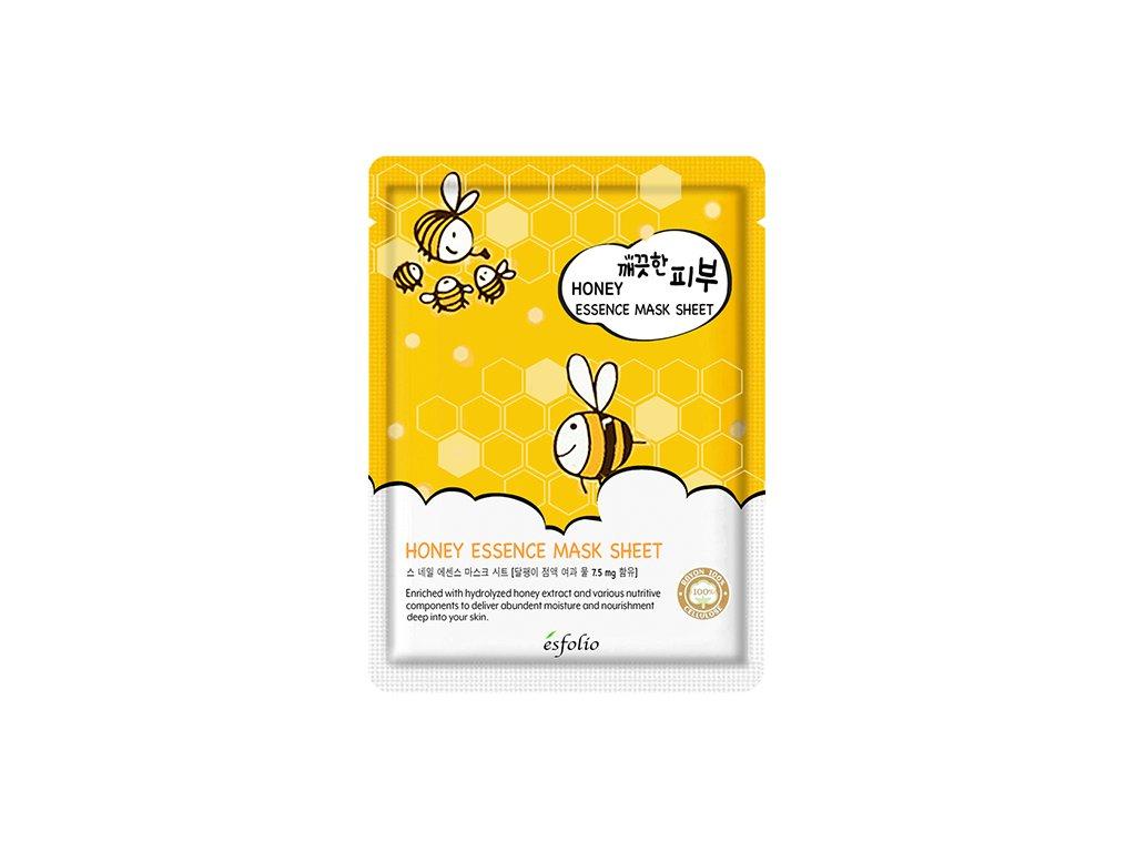 ESFOLIO Pure Skin Honey Essence Sheet Mask 25g KOR