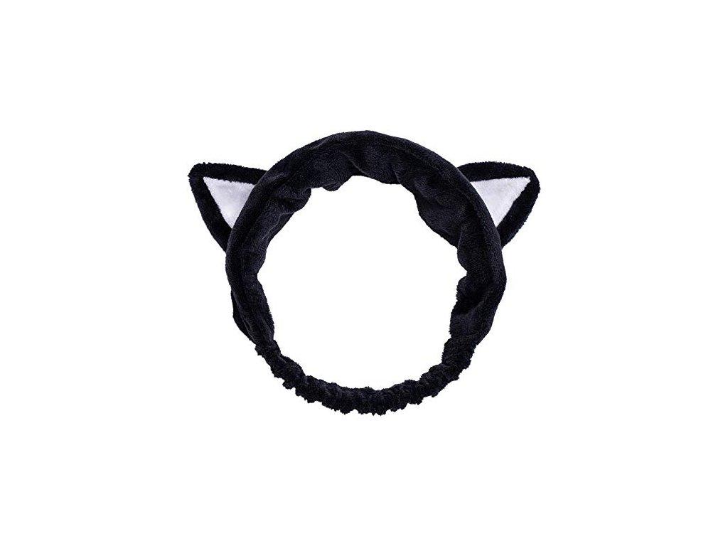 DEW I CARE Kosmetická Čelenka Černá Kočka 42g KOR