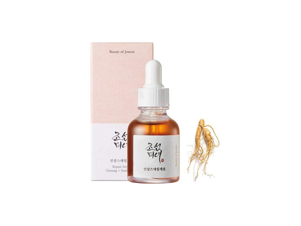 BEAUTY OF JOSEON Repair Serum Ginseng & Snail Mucin 30ml KOR