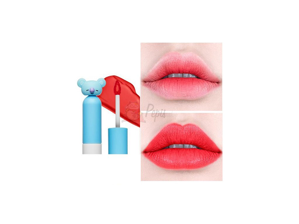 BT21 Lip Lacquer Cream #04 Syrup Red 26g KOR