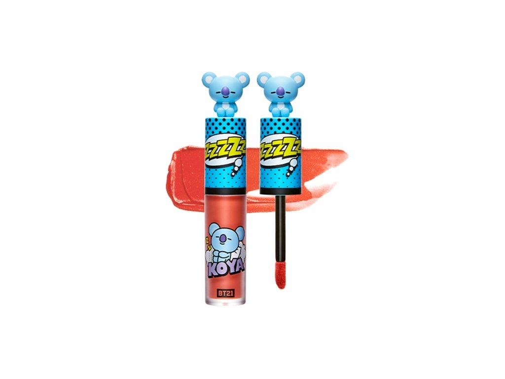 BT21 Art In Lip Tint #04 Dreamy Coral 30g KOR 1