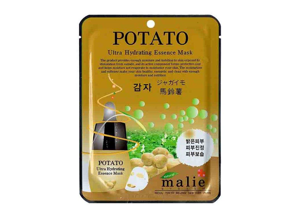 Malie Potato Ultra Hydrating Essence Sheet Mask 25g KOR