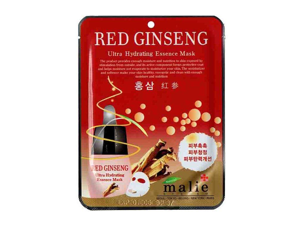Malie Red Ginseng Ultra Hydrating Essence Sheet Mask 25g KOR