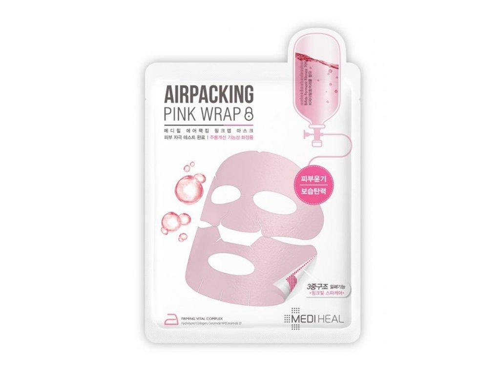 Mediheal Airpacking Pink Wrap Sheet Mask 17ml KOR